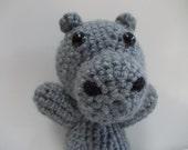 PATTERN Amigurumi- Crochet Hippo PDF DOWNLOAD