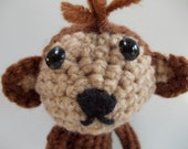 PATTERN Amigurumi- Crochet Monkey PDF DOWNLOAD