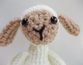 AMIGURUMI Pattern- Crochet Lamb PDF DOWNLOAD