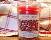 Half Pint Autumn Apples Scented Palm & Soy Candle with Cotton Wick
