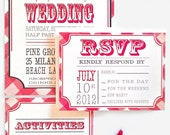 Wedding Invitation, Country Wedding