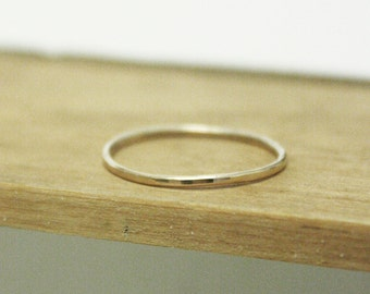 Posy Collection - Individual Solid 9kt Gold Stacking Ring