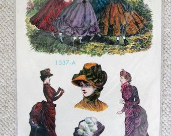 Meyercord Decals with Victorian Fashion Ladies
