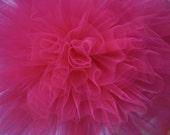 Fuchsia Pink... Tulle poms
