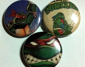 Teenage Mutant Ninja Turtles Button 3-pack