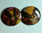 Wolverine Comic Book Button 2-pack