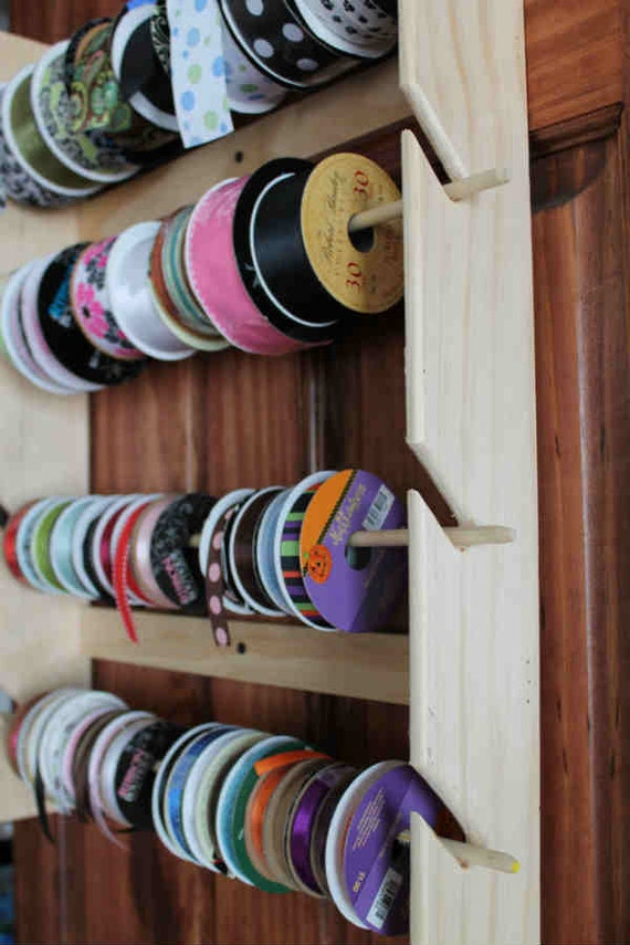 Handmade Ribbon Rail Ribbon Holder for Organization