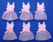 Handmade ballet costume felt appliques - set of 6 pcs (G048-B)