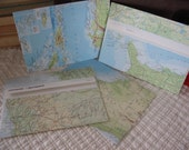 Upcycled paper envelopes - atlas