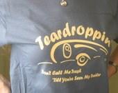 Teardrop Trailer Camper Trailer Trash Tshirt  Free Shipping