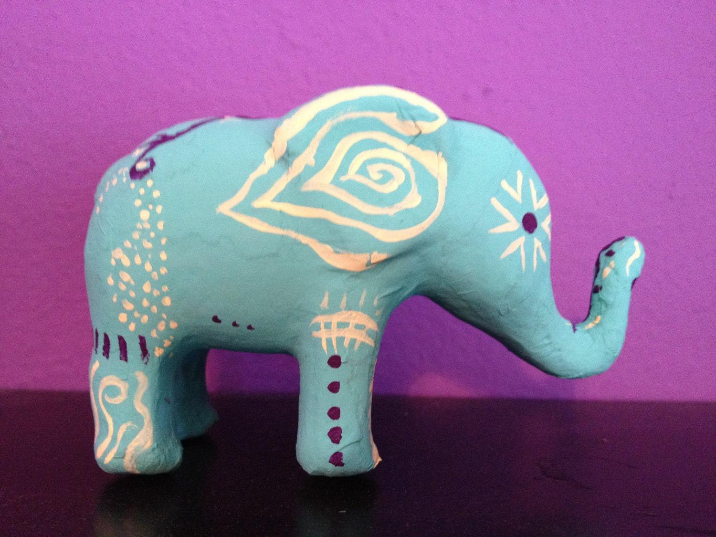 paper mache elephant mask - photo #18