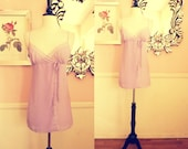 Victoria's Secret- Lilac and Lace Baby Doll- Medium