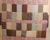 Liberty Prints Patchwork Single Bed Quilt