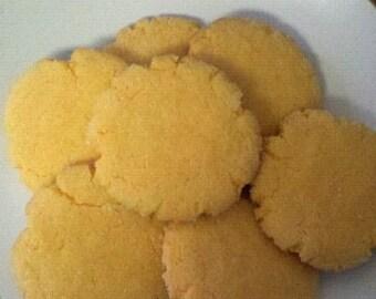 Orange Crisps BAKED 2 Dozen Cookies