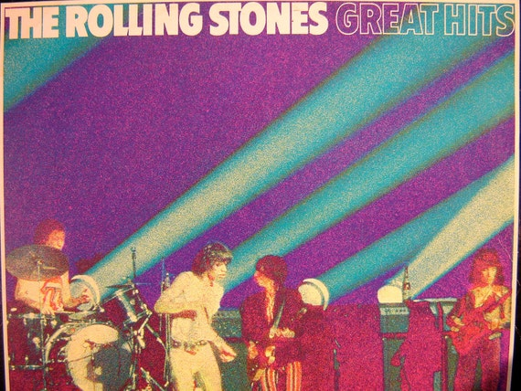 The Rolling Stones - Great Hits LP - 1969 - Nova Records 6.21614 AG - Vintage Vinyl Record Album Rare