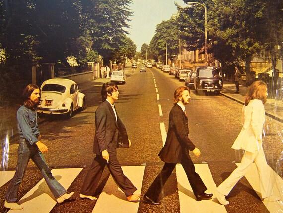 The Beatles  - Abbey Road LP - 1969 - Capitol Records SO-383 - Vintage Vinyl LP Record Album