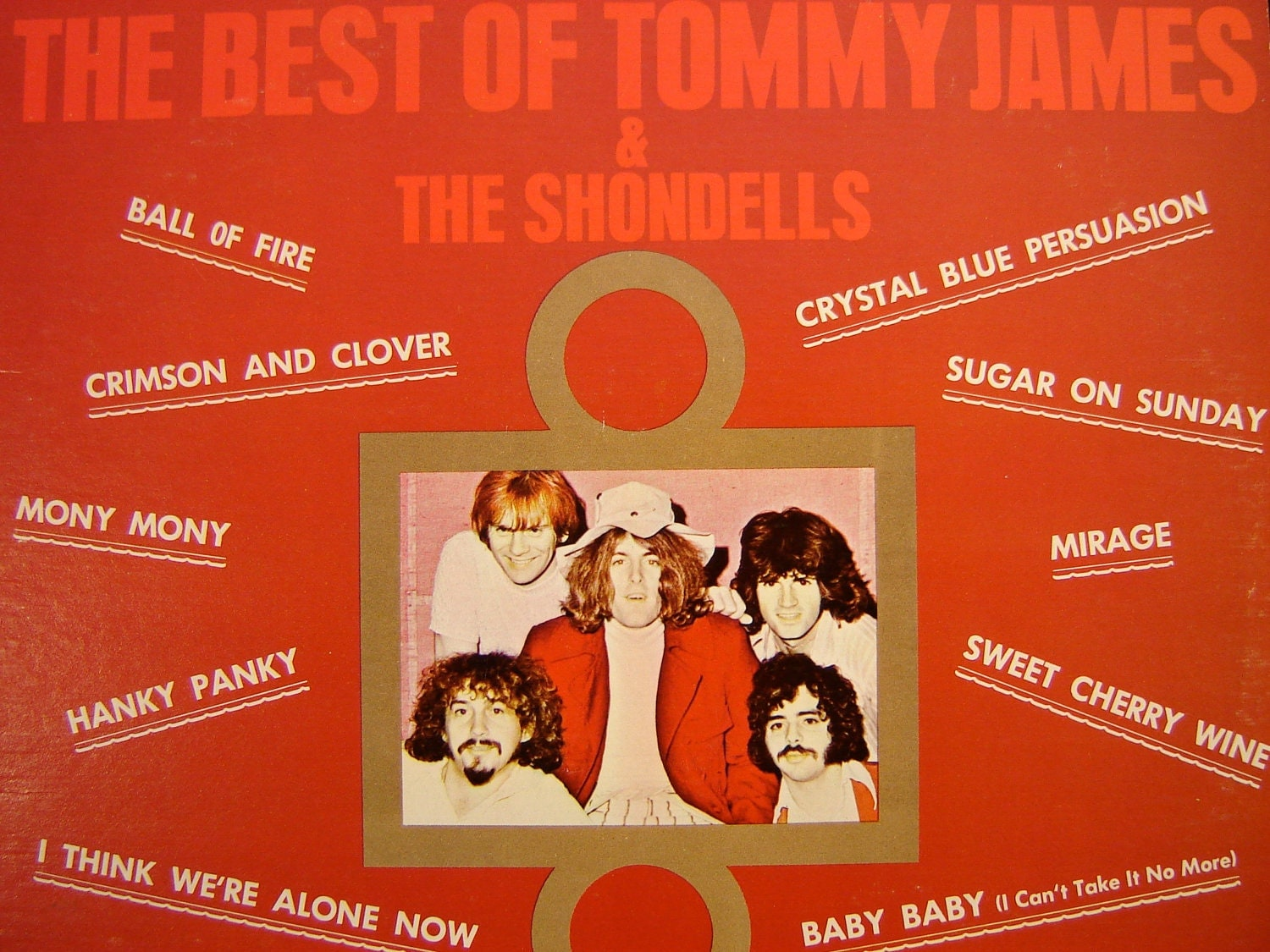 Tommy James The Best Of Tommy James And The Shondells Lp