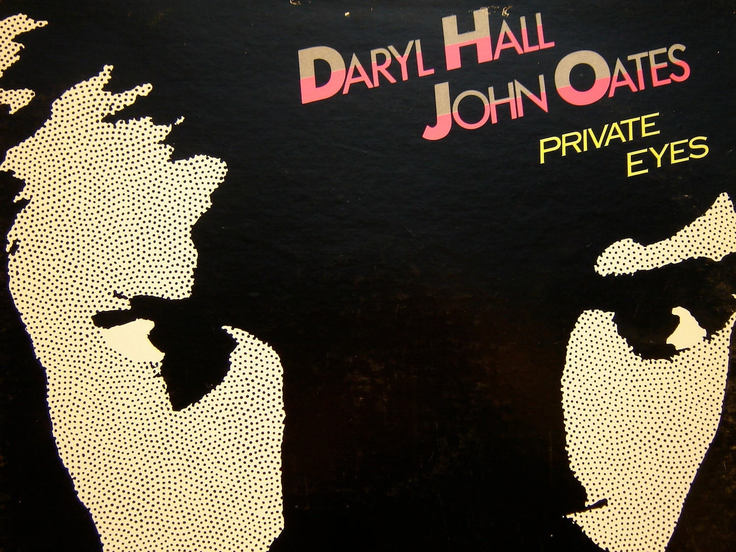 daryl hall and john oates private eyes lp 1981 rca. Black Bedroom Furniture Sets. Home Design Ideas
