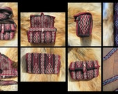 Birka Knots and Spiral Tarot Pouch Bag Card Tablet Woven FREE SHIPPING (in Canada and US only)