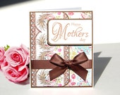 Handmade Mother's Day Card - Belle Rose - Free US Shipping
