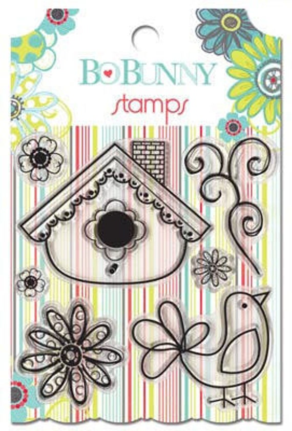 Bo Bunny - Alora - Clear Stamps - CLEARANCE