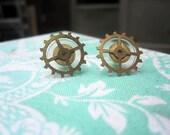 Post Earrings // Escape Wheels