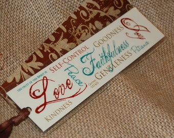 Bookmark - Fruit of the Spirit Laminated