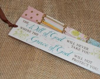 Shimmer Bookmark - The Grace of God