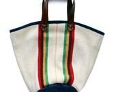 Wool Blanket Tote Bag