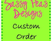 Custom order for Cheryl Carver