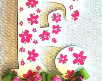 Floral Bow Holder for Kerry