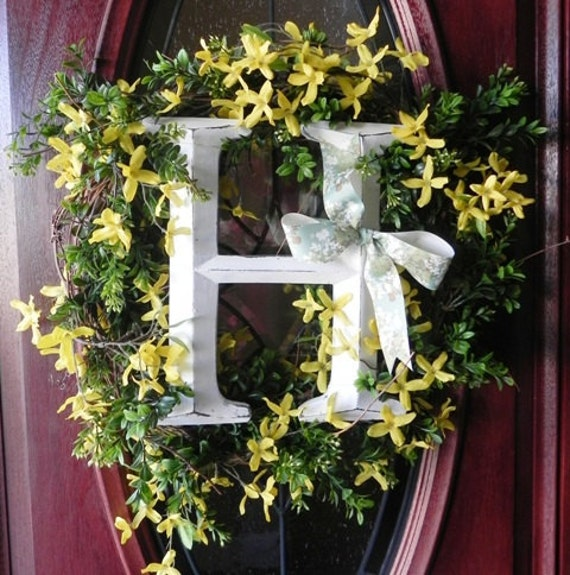 Made to Order - Initial Wreath