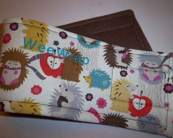 Dog Diaper Belly Band, For Male Dogs, Fast Shipping, Hedge Hog Fabric, Personalized