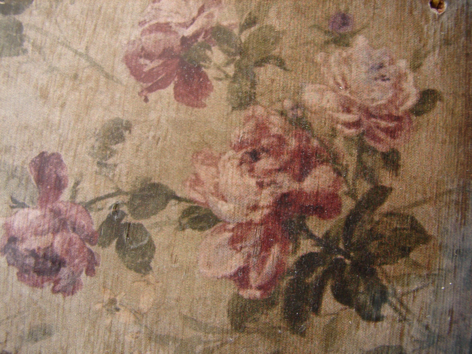 Shabby Old Victorian Wallpaper Style Imagelarge Wooden