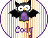 Personalized Halloween Child or Toddler tshirt or Baby Romper