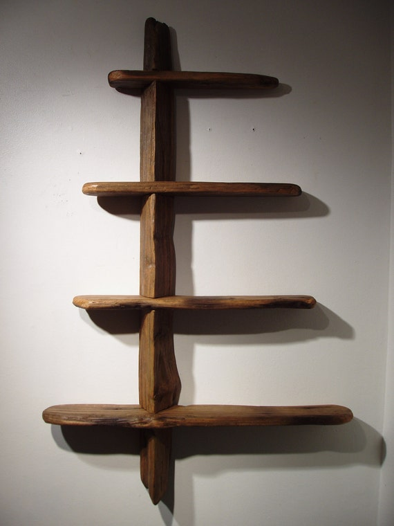 Driftwood Shelves Number 2 in Pacific Red Cedar and Western Hemlock. Free Shipping.