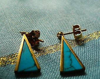 Goodbye Blue Sky - Vintage earrings