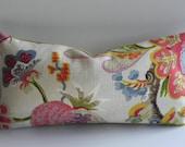 Floral 10X20-Both Sides- Decorative Pillow Cover Braemore Home Decor Fabric-Floral-Throw Pillow-Accent Pillow-Toss Pillow-Lumbar Pillow