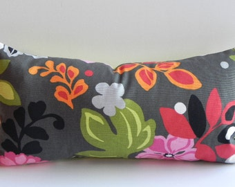 Floral Decorative 10X20-Both Sides-Pillow Cover Home Decor Fabric Throw Pillow-Accent Pillow-Living Room Pillow