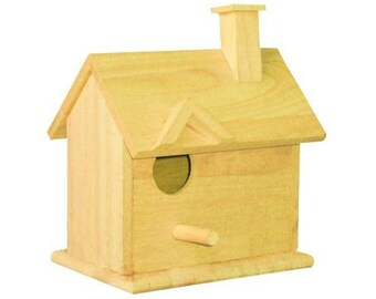 Cottage Birdhouse Kit