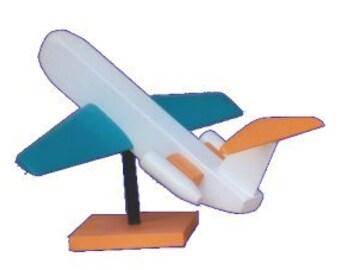 Jetliner Wood Craft Kit