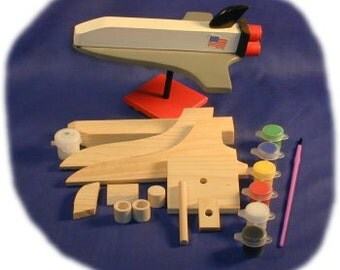 Space Shuttle Wood Craft Kit