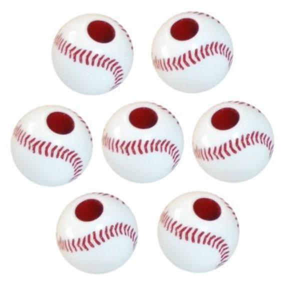 60 Baseball Beads