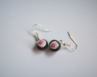 Polymer Clay Sushi Earrings