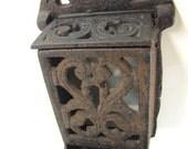 Edwardian Cast Iron Match Box Holder