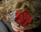 Double Flower Headband, Free Domestic Shipping