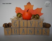 "Deskoration ""Give Thanks"" Thanksgiving  Decoration"
