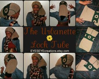 Urbanette  Loc Tube(made to order) - dreadlock, badu, urban, sack, african, hat, cap, rasta, natural bohemian