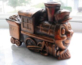 Vintage Casey Jones Train Bank