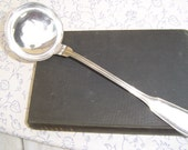 French Beautiful Heavy Silverplated Ladle